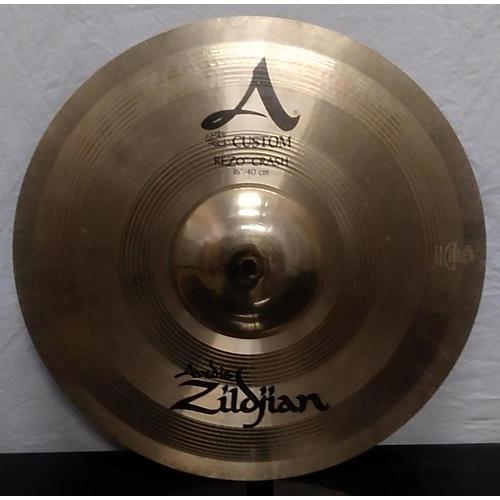 Zildjian 16in A Custom Rezo Crash Cymbal-thumbnail