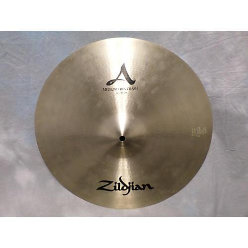 Zildjian 16in A Series Medium Thin Crash Cymbal  36