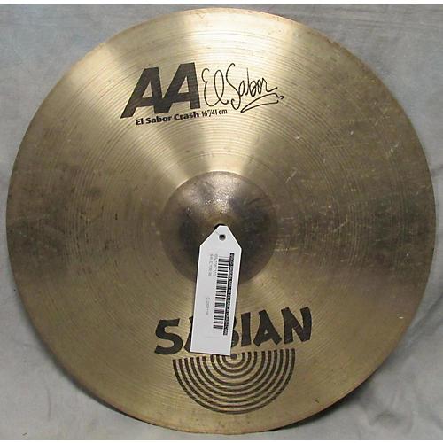 Sabian 16in AA El Sabor Crash Cymbal-thumbnail
