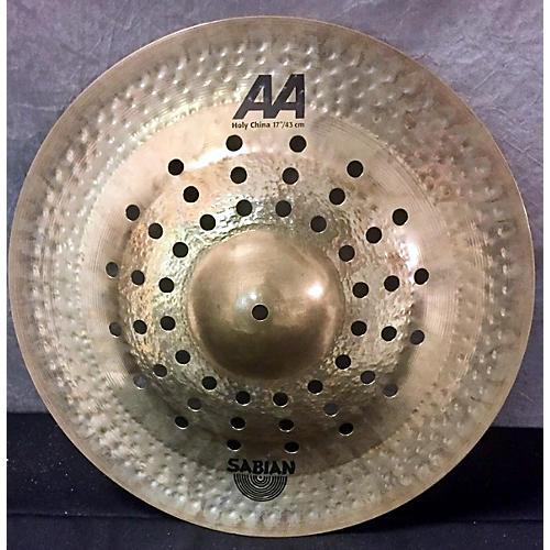 Sabian 16in AA Holy China Brilliant Cymbal