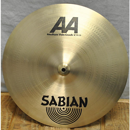 Sabian 16in AA Medium Thin Crash Cymbal-thumbnail