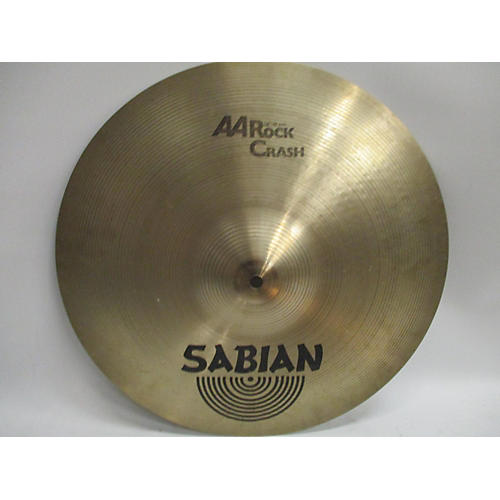 Sabian 16in AA Rock Crash Cymbal