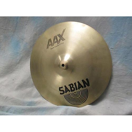 Sabian 16in AAX Series Dark Crash Cymbal-thumbnail