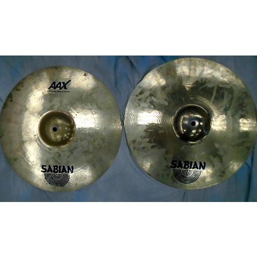 Sabian 16in AAX Xplosion Hi Hat Pair Cymbal-thumbnail