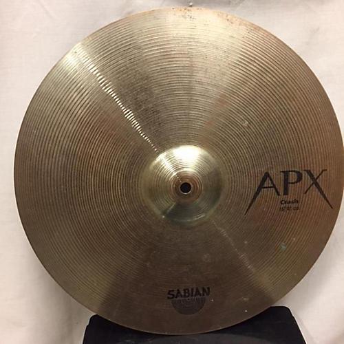 Sabian 16in APX Crash Cymbal