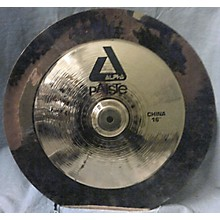 Paiste 16in Alpha China Cymbal