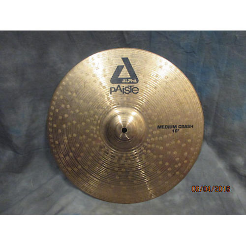 Paiste 16in Alpha Medium Crash 16 Inch Cymbal-thumbnail