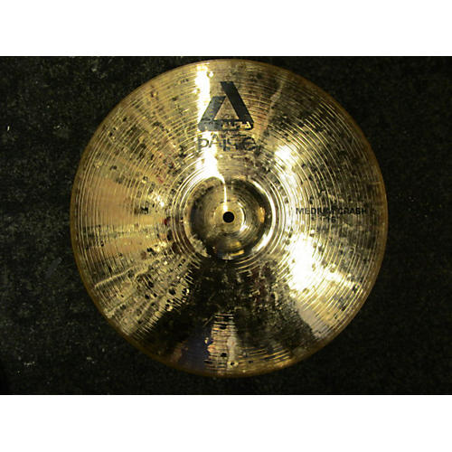 Paiste 16in Alpha Medium Crash Brilliant Cymbal-thumbnail