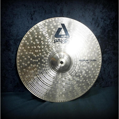Paiste 16in Alpha Medium Crash Cymbal