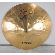Paiste 16in Alpha Power Crash Cymbal