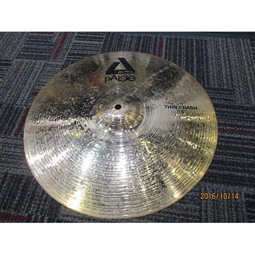 Paiste 16in Alpha Thin Crash 16in Cymbal