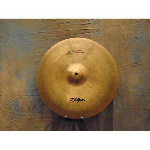 Zildjian 16in Armand Series Thin Crash Cymbal-thumbnail