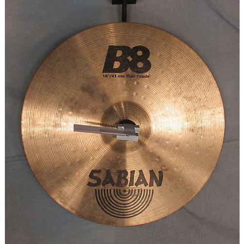 Sabian 16in B8 Crash Cymbal-thumbnail