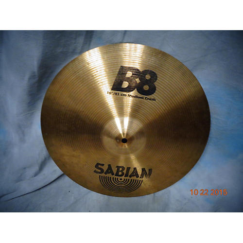 Sabian 16in B8 Medium Crash Cymbal-thumbnail