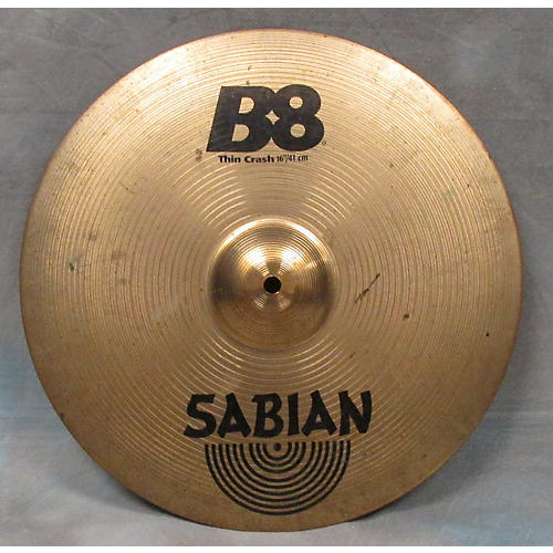 Sabian 16in B8 Thin Crash Cymbal-thumbnail
