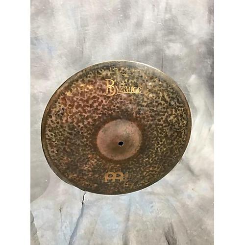 Meinl 16in BYZANCE EXTRA DRY MEDIUM THIN HIHAT Cymbal-thumbnail