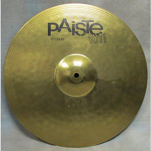 Paiste 16in Brass 101 Cymbal