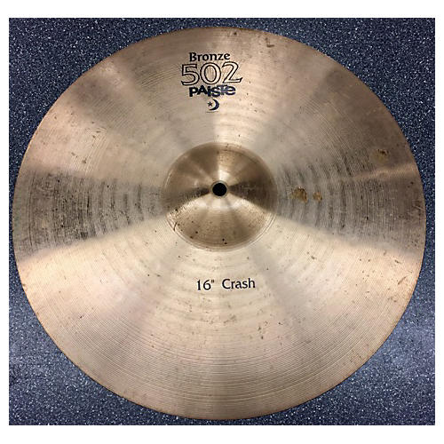 Paiste 16in Bronze 502 Cymbal