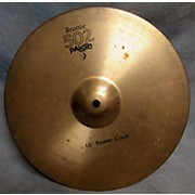 Paiste 16in Bronze 502 Power Crash Cymbal