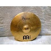 Meinl 16in Byzance Medium Thin Crash Brilliant Cymbal