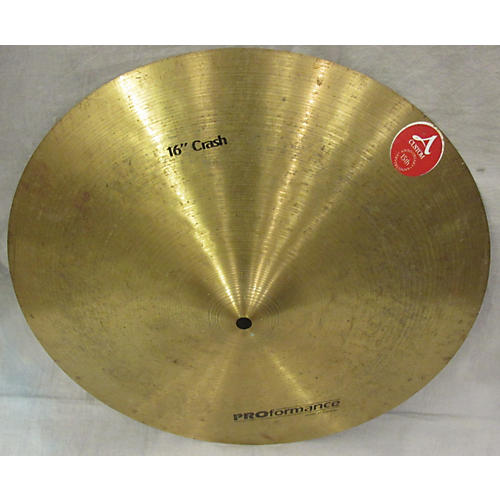 In Store Used 16in CRASH Cymbal-thumbnail