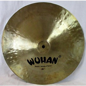 Pre-owned Wuhan 16 inch China Cymbal by Wuhan