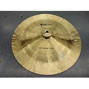 Agazarian 16in China Type Cymbal