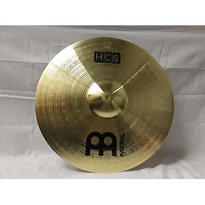 Pre-owned Meinl 16 inch HCS Crash Cymbal by Meinl