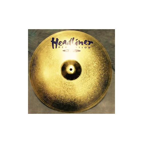 Meinl 16in HEADLINER 16IN CRASH Gold Cymbal