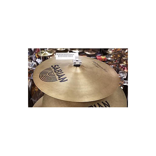 Sabian 16in HH Medium Thin Crash Brilliant Cymbal