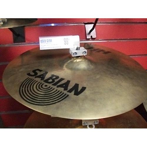 Sabian 16in HH Thin Crash Brilliant Cymbal