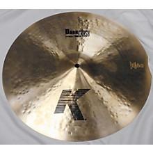 Zildjian 16in K CUSTOM DARK THIN CRASH Cymbal