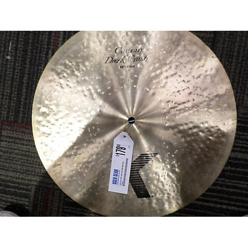 Zildjian 16in K Custom Dark Crash Cymbal-thumbnail