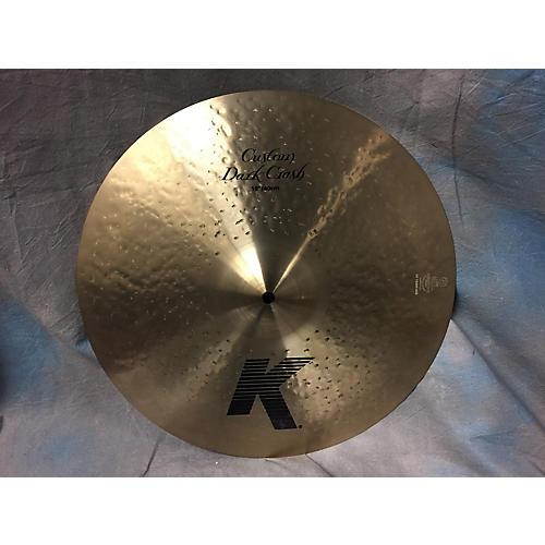 Zildjian 16in K Custom Dark Crash Cymbal