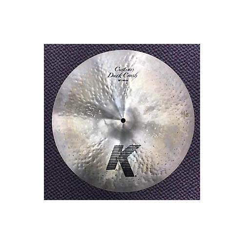 Zildjian 16in K Custom Dark Crash Cymbal-thumbnail