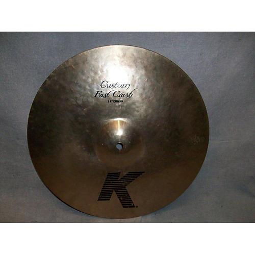 Zildjian 16in K Custom Fast Cra Cymbal