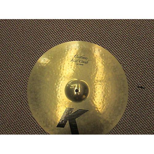 Zildjian 16in K Custom Fast Crash Cymbal-thumbnail
