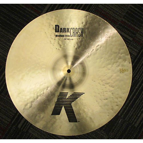 Zildjian 16in K Medium Dark Thin Crash Cymbal-thumbnail