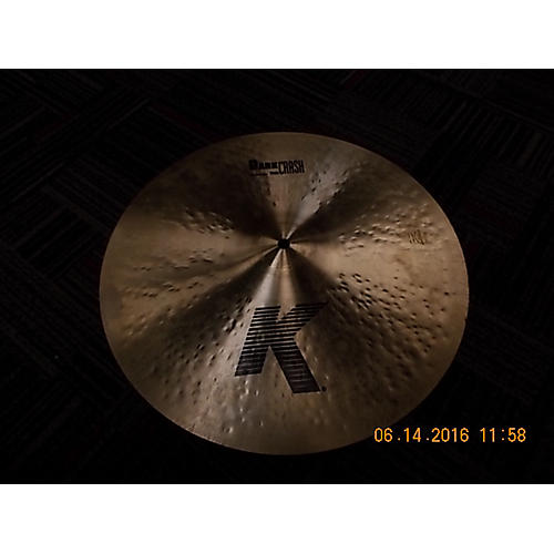 Zildjian 16in K Thin Dark Crash Cymbal-thumbnail