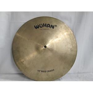 Pre-owned Wuhan 16 inch Medium Crash Cymbal by Wuhan