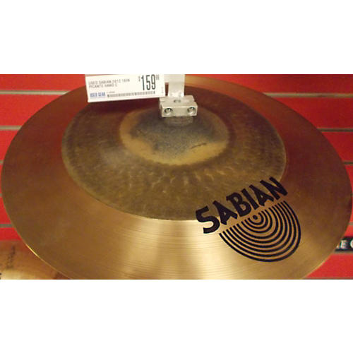 Sabian 16in Picante Hand Crash Brass Cymbal-thumbnail