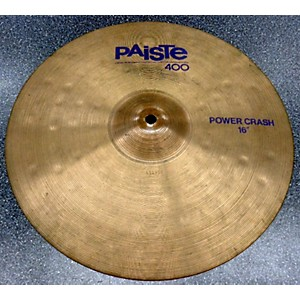 Pre-owned Paiste 16 inch Power Crash Cymbal by Paiste