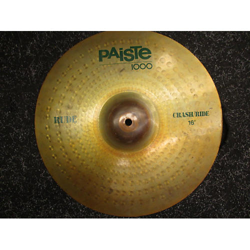 Paiste 16in Rude 1000 Cymbal-thumbnail