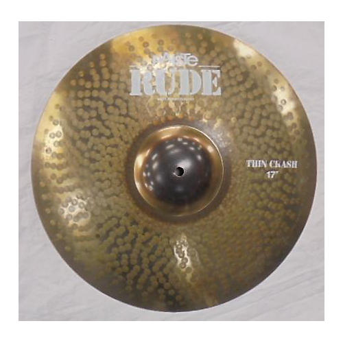 Paiste 16in Rude Thin Crash Cymbal