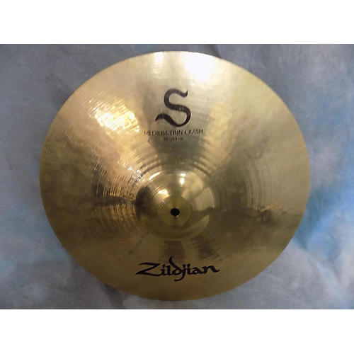Zildjian 16in S Medium Thin Crash Cymbal-thumbnail
