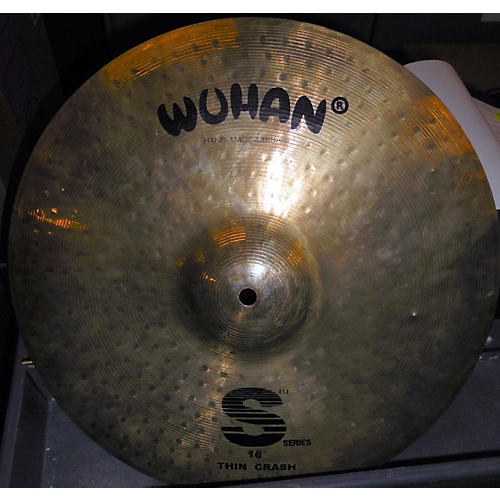Wuhan 16in S Series Thin Crash Cymbal-thumbnail