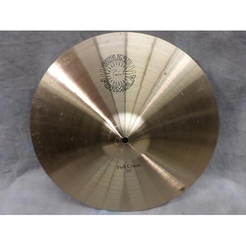 Paiste 16in Sound Formula Full Crash Cymbal-thumbnail