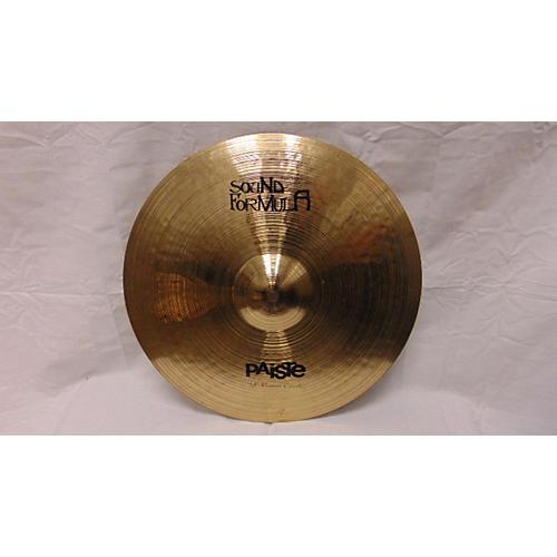 Paiste 16in Sound Formula Power Crash Cymbal-thumbnail