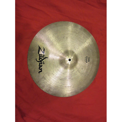 Zildjian 16in Thin Crash Cymbal