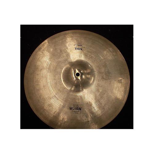 Wuhan 16in Thin Crash Cymbal